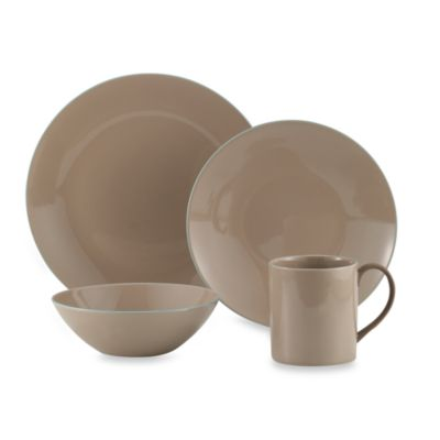 Wedgwood® Nature's Canvas Sandstone 4-Piece Place Setting