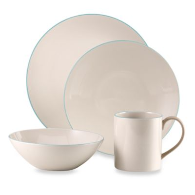 Wedgwood® Nature's Canvas Limestone 16-Piece Dinnerware Set