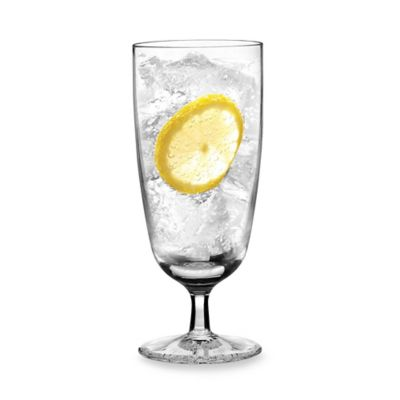 Waterford® Clear Footed Iced Beverage Glasses (Set of 2)