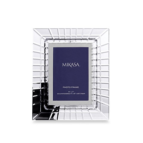 Mikasa® Avenue 5-Inch x 7-Inch Photo Frame