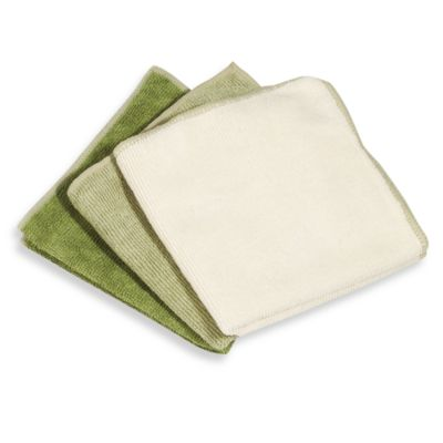 Spotless All-Purpose Microfiber Cleaning Cloths (Set of 3)