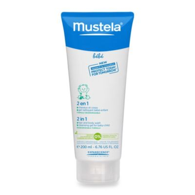 Mustela® Bébé 6.8 oz. 2-in-1 Hair and Body Wash
