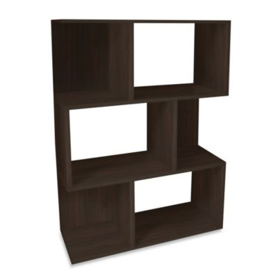 Way Basics Madison Bookshelf in Espresso