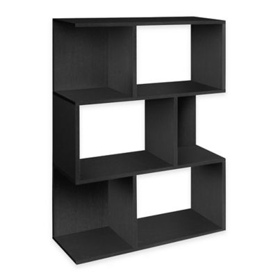Way Basics Madison Bookcase in Black