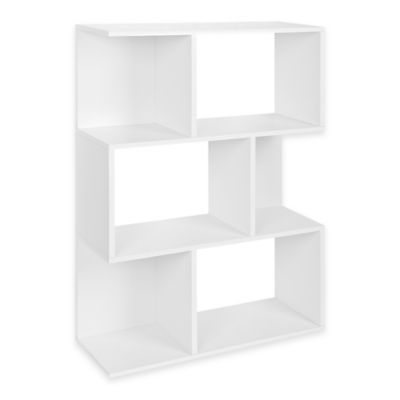 Way Basics Madison Bookcase in White