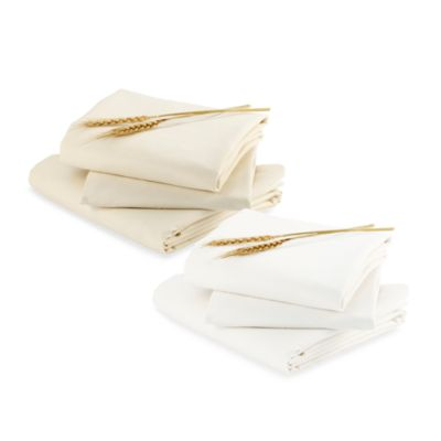 bloom® Alma Crib Fitted Sheets Set of 2 in Coconut White