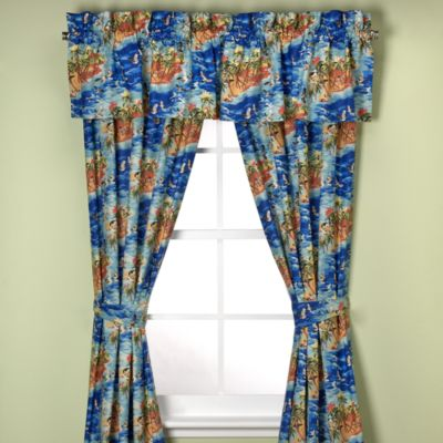 Tommy Bahama® Fiji Coast Window Panel Pair