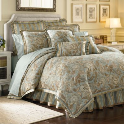 J. Queen New York™ Valdosta Aqua European Sham