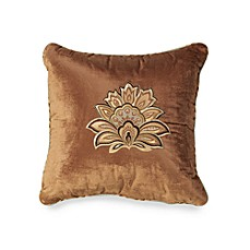 J. Queen New York™ Valdosta Aqua 18-Inch Square Toss Pillow