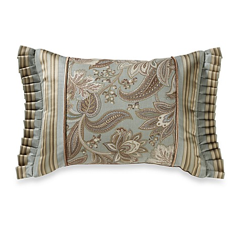 J. Queen New York™ Valdosta Aqua Boudoir Pillow
