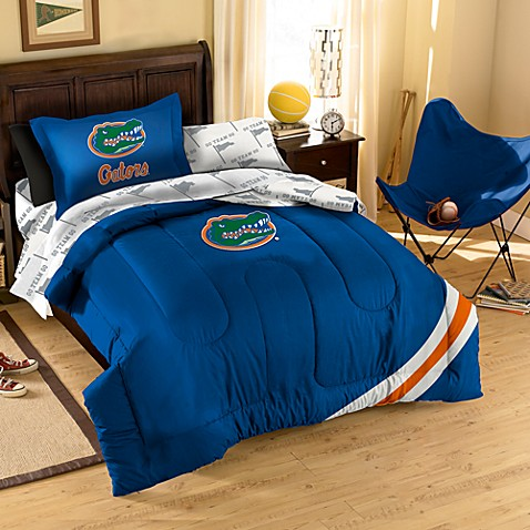 University of Florida Complete Twin Bed Ensemble