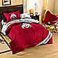 Ohio State Twin Collegiate Complete Bed Ensemble
