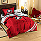 Collegiate University of Georgia Complete Bed Ensemble