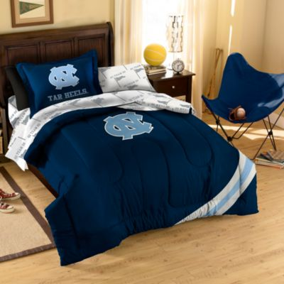Collegiate University of North Carolina Full Complete Bed Ensemble