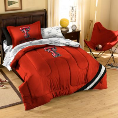 Collegiate Texas Tech University Full Complete Bed Ensemble