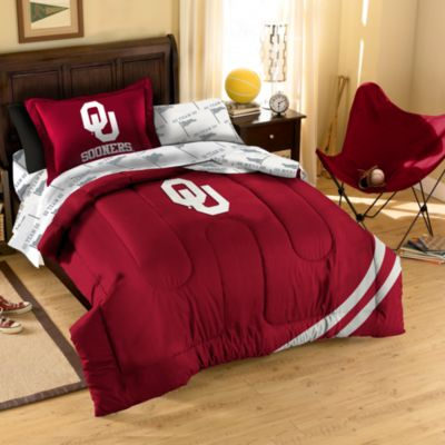 University of Oklahoma Full Complete Bed Ensemble