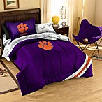 Collegiate Clemson University Complete Bed Ensemble