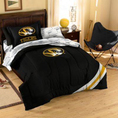 Collegiate University of Missouri Twin Complete Bed Ensemble
