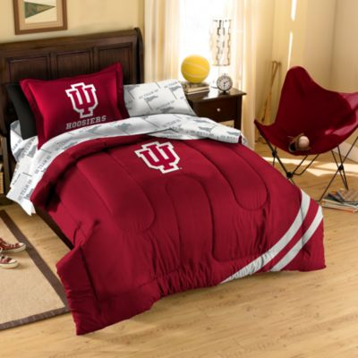 Indiana University Collegiate Complete Bed Ensemble in Twin