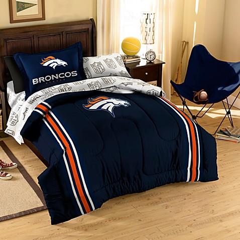 Buy Nfl Denver Broncos Complete Bed Ensemble From Bed Bath Amp Beyond