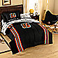 NFL Cincinnati Bengals Complete Twin Bed Ensemble