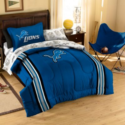 NFL Detroit Lions Complete Bed Ensemble