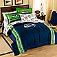 NFL Seattle Seahawks Complete Bed Ensemble - Full
