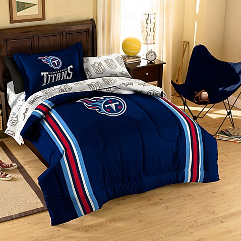 NFL Tennessee Titans Complete Full Bed Ensemble