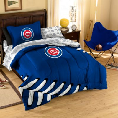 MLB Chicago Cubs Complete Twin Bed Ensemble