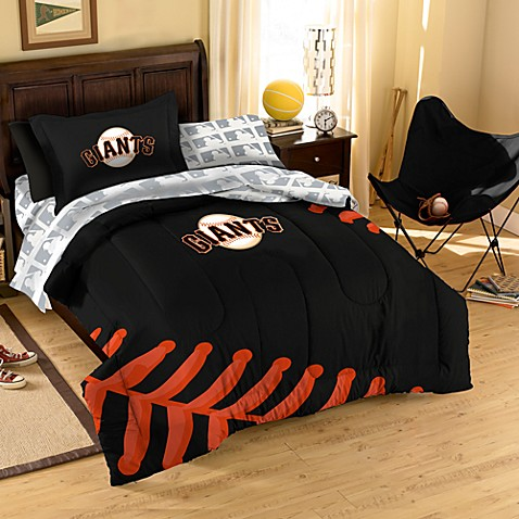 MLB San Francisco Giants Complete Twin Bed Ensemble