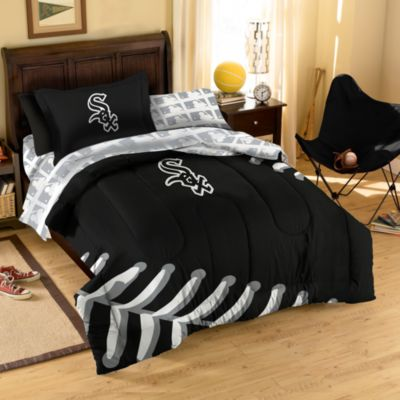 Kids Bedding Sets > MLB Chicago White Sox Complete Twin Bed Ensemble