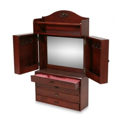 Mount Jewelry Armoire