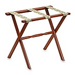 Mahogany Luggage Rack