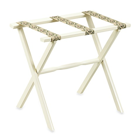 Ivory Luggage Rack