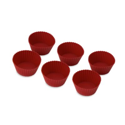 Betty Crocker® Silicone Non-Stick Reusable Baking Cups (Set of 12)