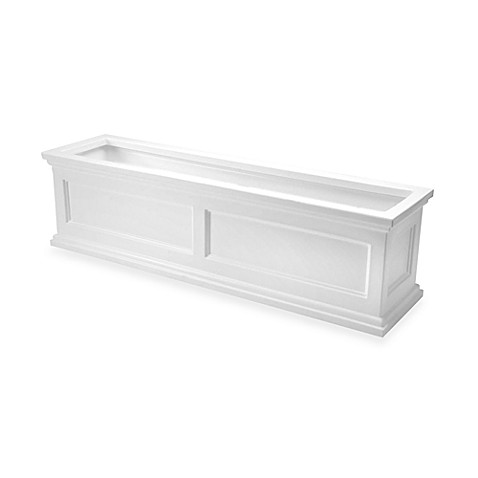 Madison Flower Box in White