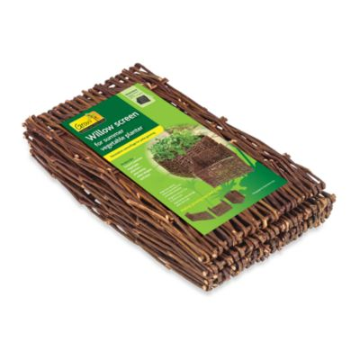 Summer Vegetable Willow Planter