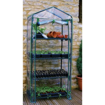 Four-Tier Mini Greenhouse