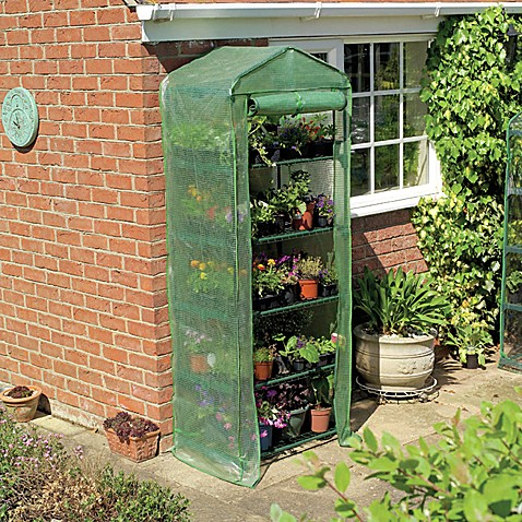 Gardman 5-Tier Greenhouse with Heavy Duty Cover