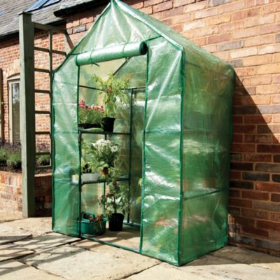 Compact Walk-In Greenhouse