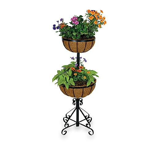 Georgian Two-Tier Planter
