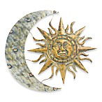 Aztec Sun and MoonIndoor/Outdoor Wall Art
