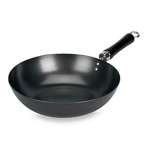 China Village® by Keilen 12-Inch Non-Stick Stir Fry Pan