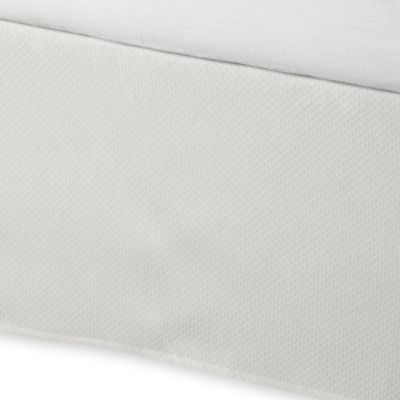 Tailored Bed Skirt in White