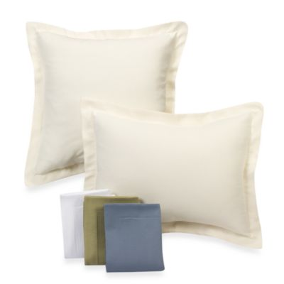 Diamond Matelassé European Pillow Sham in Ivory