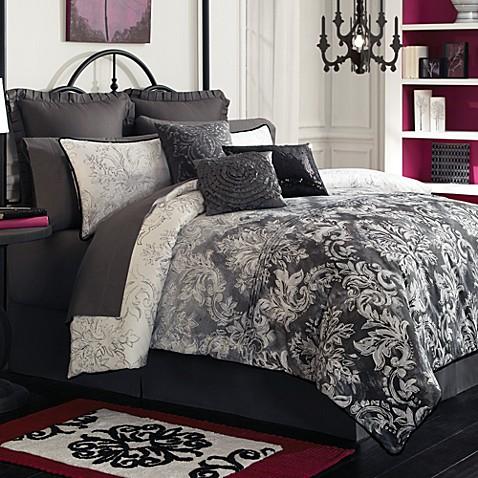Lux Ombre Complete Bed Ensemble 100 Cotton Bed Bath