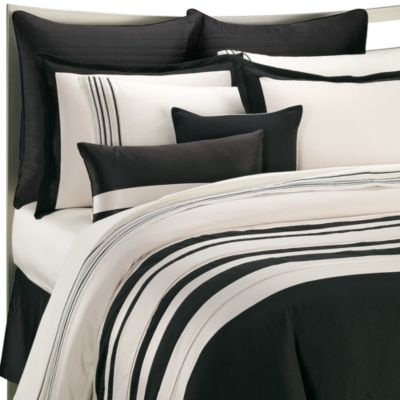 Ampersand® Stratosphere Queen Comforter Set in Black