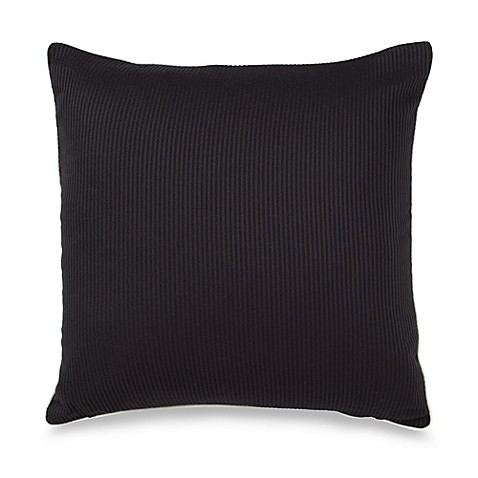 Ampersand® Stratosphere 16-Inch Square Throw Pillow in Black