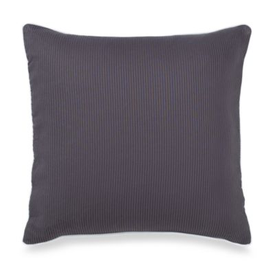 Ampersand® Stratosphere 16-Inch Square Throw Pillow in Grey