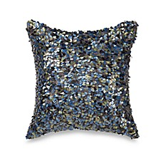 Nicole Miller® Feathers 12-Inch Sequin Toss Pillow